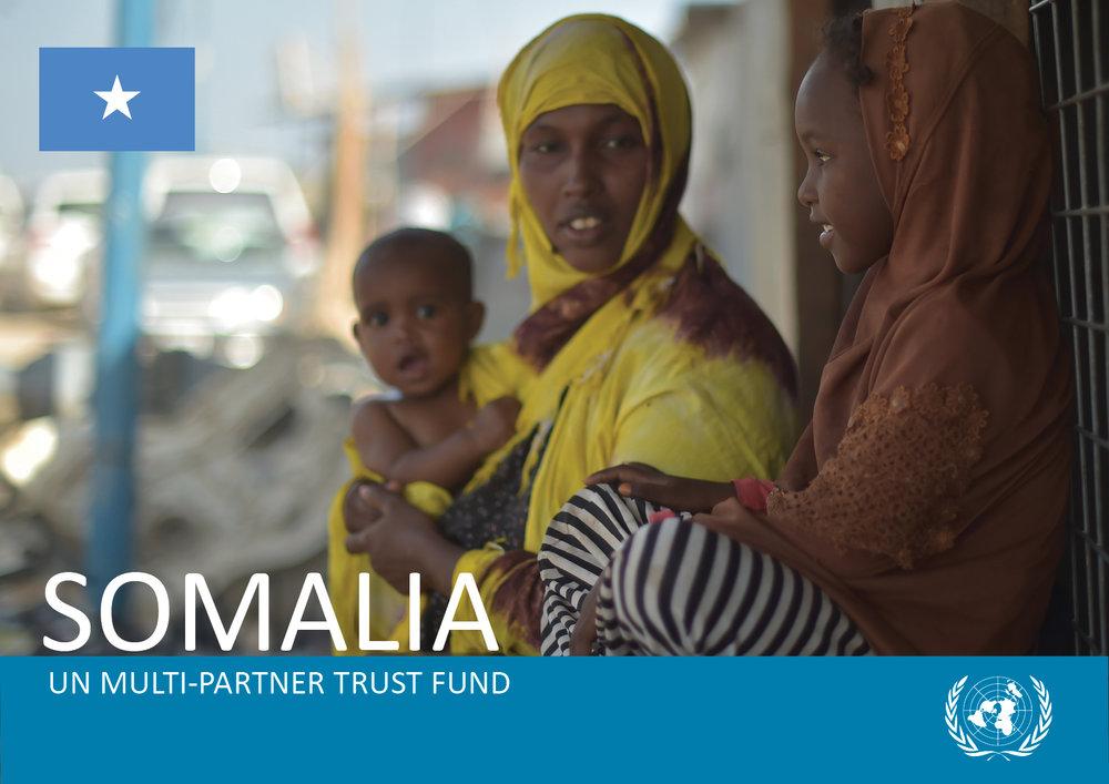 Dayniile IDP camp on the outskirts of Mogadishu, Somalia, on March 6, 2017. UN Photo/T.Jones