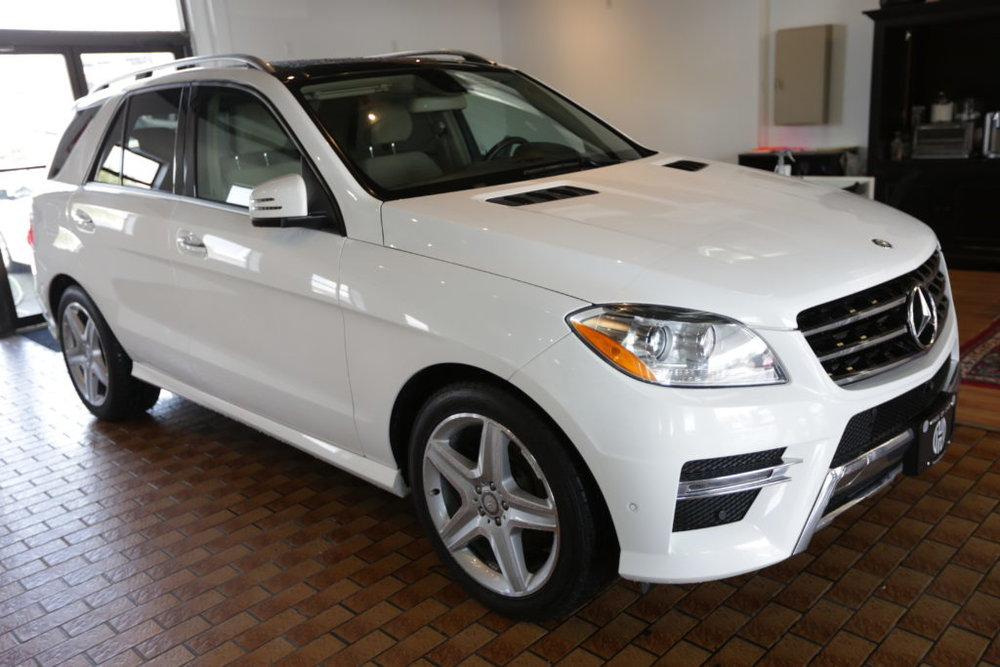 2014 Mercedes-Benz ML350 Bluetech Sold