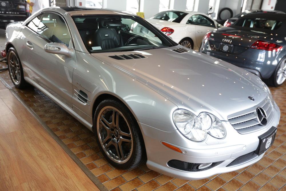 "<h1 class=""title"">2006 Mercedes Benz SL55 AMG</h1><p class=""categories"">On Sale</p>"