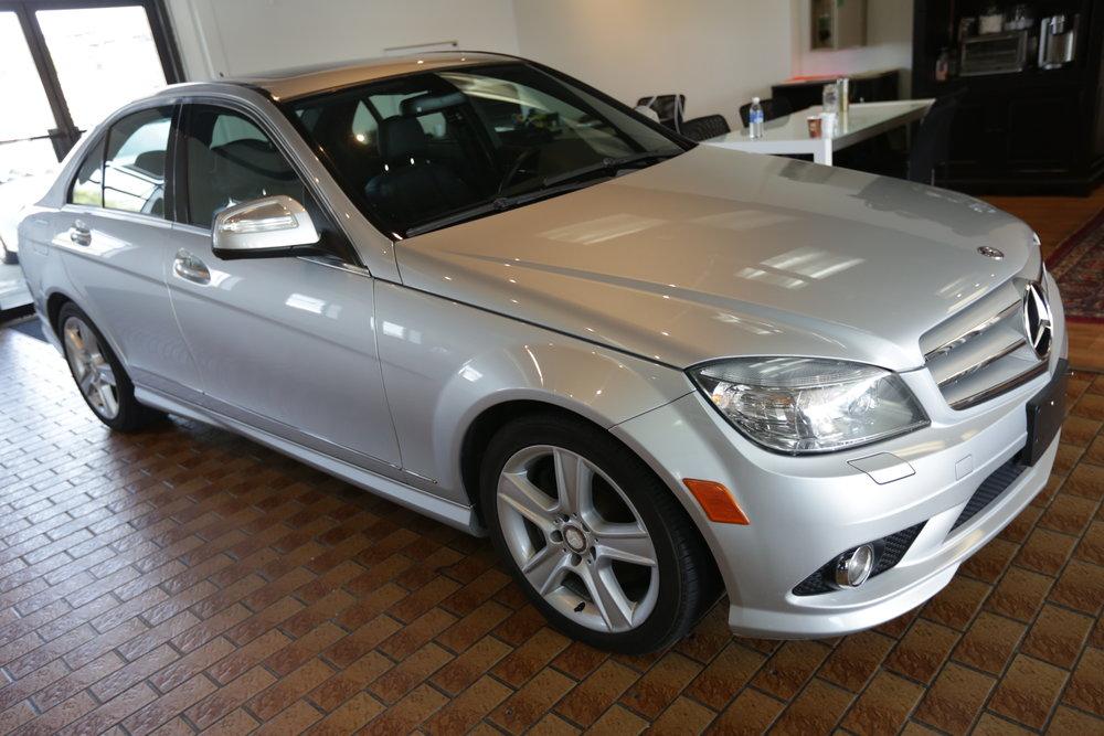 """<h1 class=""""title"""">2009 Mercedes Benz C300</h1><p class=""""categories"""">Sold</p>"""