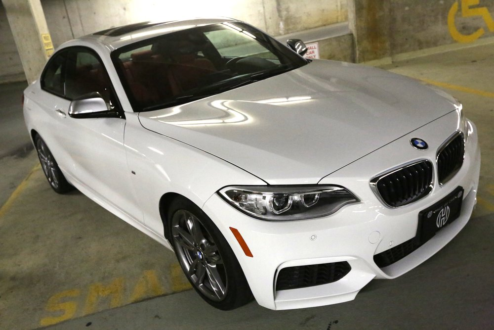"""<h1 class=""""title"""">2015 BMW M235i, Fully Loaded, No Claims</h1><p class=""""categories"""">Sold</p>"""