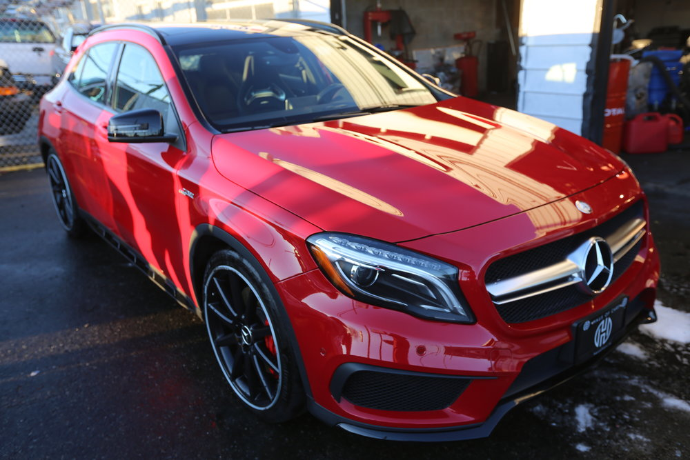 2015 Mercedes GLA45 AMG Sold