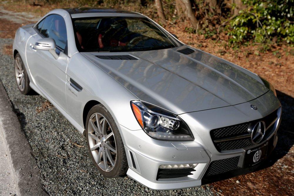 2012 Mercedes SLK55 AMG Sold