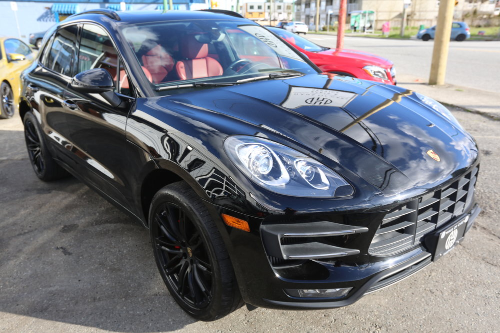 2015 Porsche Macan Turbo, Sports Chrono Sold