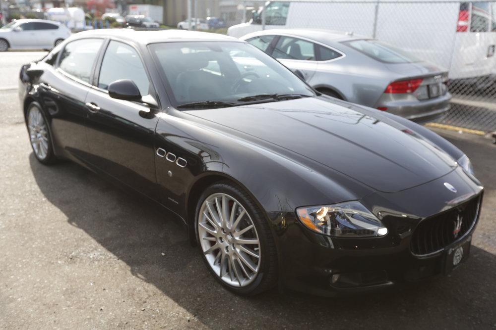 "<h1 class=""title"">2011 Maserati quattroporte GT S MC Sportline Edition </h1><p class=""categories"">For Sale</p>"