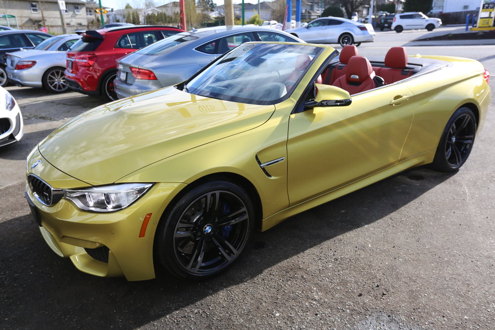 2016 BMW M4 Convertible SMG Sold