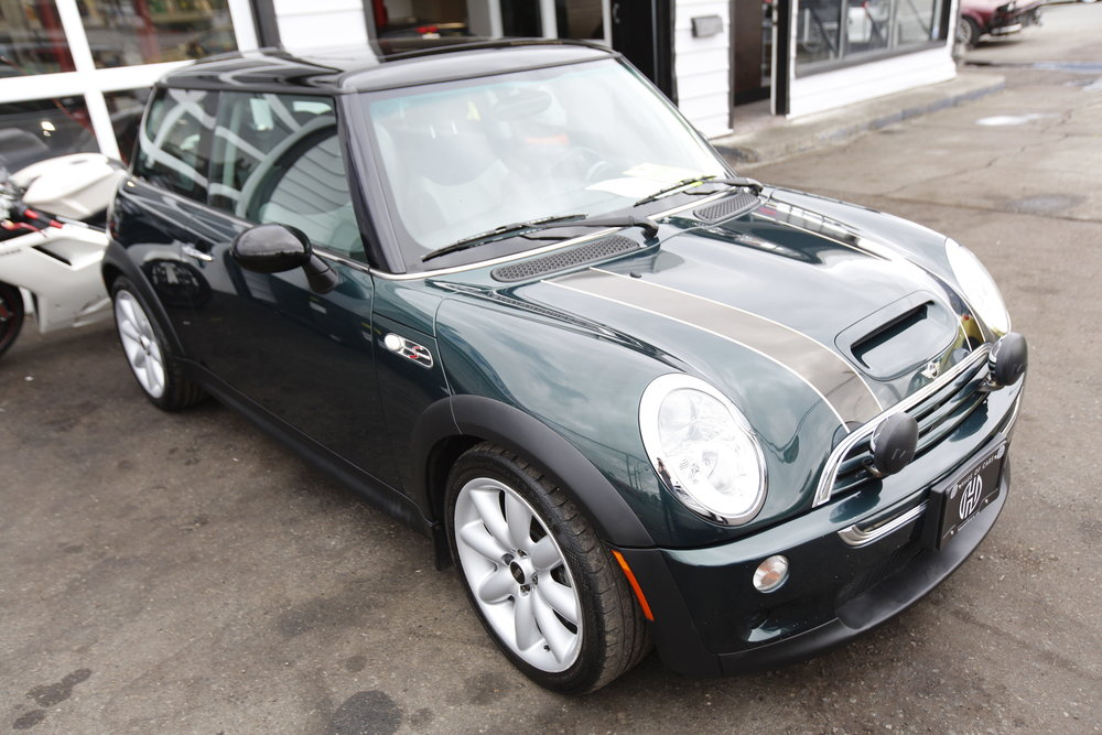2004 mini cooper s john cooper works edition Sold