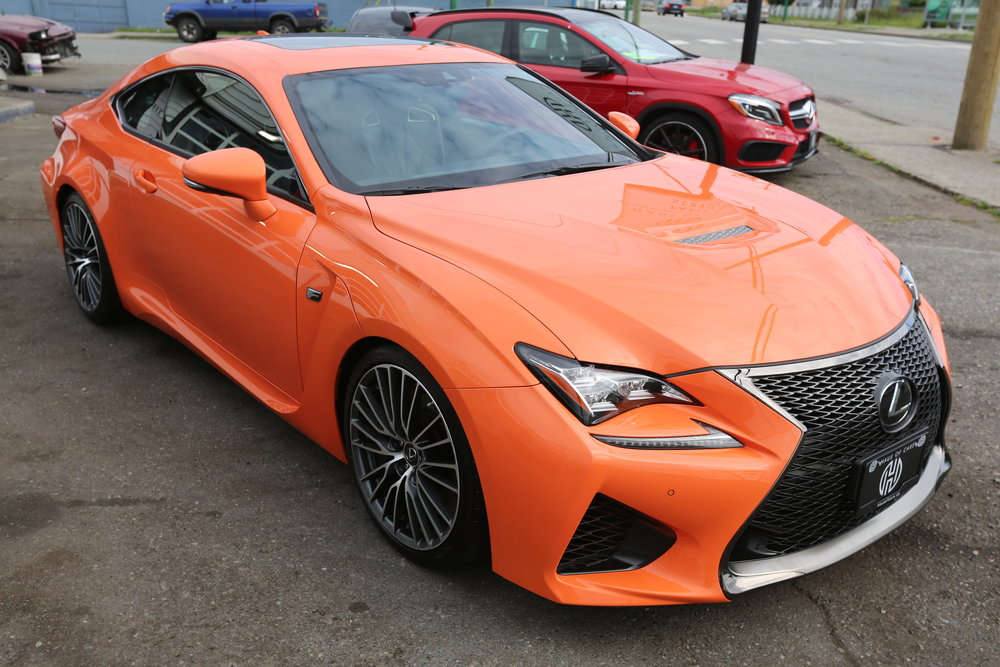 2015 Lexus RC F Coupe Sold