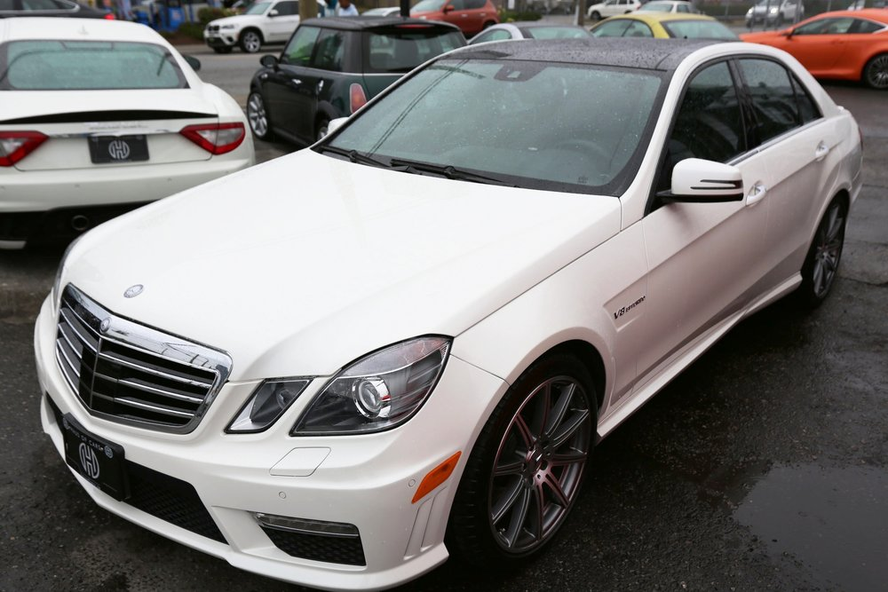 2012 Mercedes Benz E63 AMG Sold