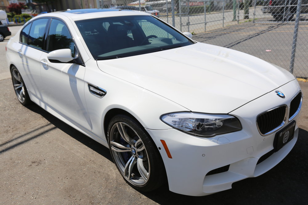 2013 BMW M5, SMG Sold