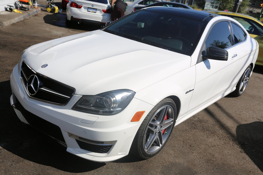 2013 Mercedes Benz C63 AMG Sold