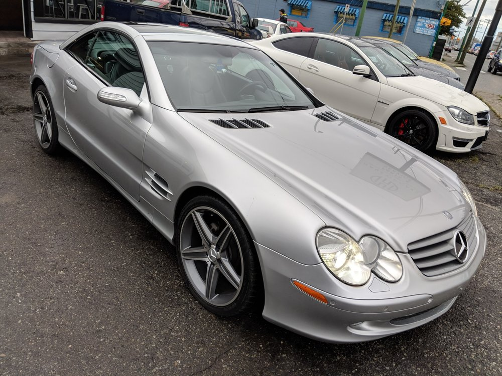 2004 Mercedes Benz SL500 Sold