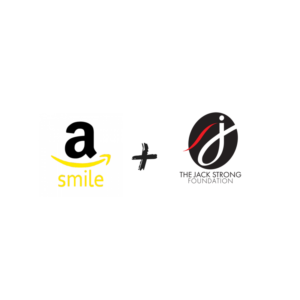 You Shop. Amazon Gives. - The AmazonSmile Foundation will donate 0.5% of the purchase price from your eligible Amazon Smile purchases to The Jack Strong Foundation. Click here to start shopping!