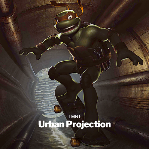 TMNT Urban Projection