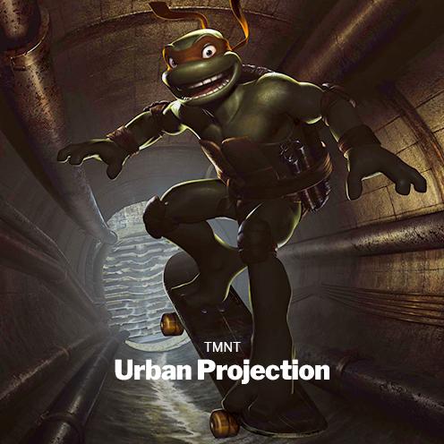 TMNT Urban Projection