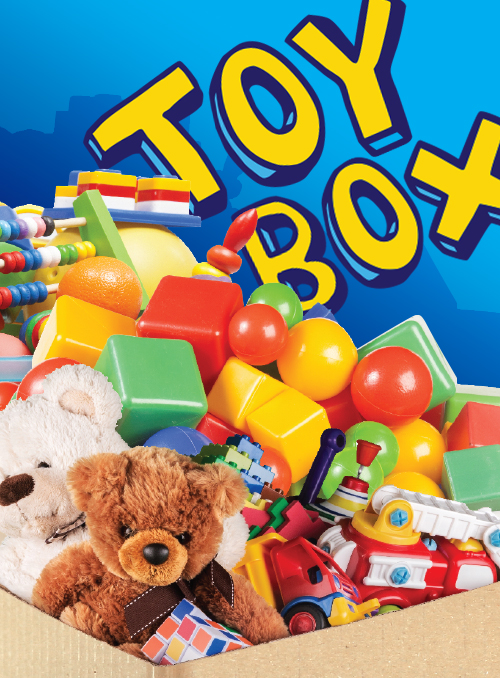 RETRO TOY BOX