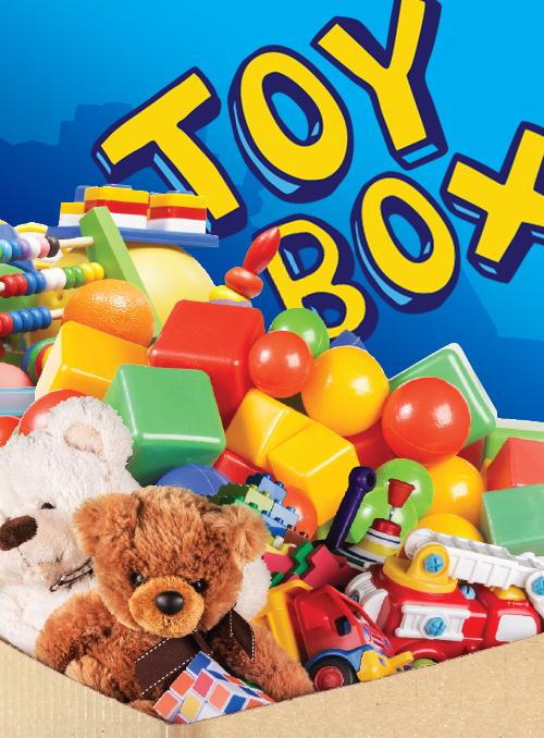 RETRO TOY BOX