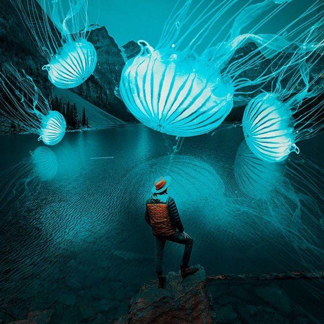 Boundless exploration. Art by @kresna_rama #digitalart #surreal #surrealism #otherworldnyc