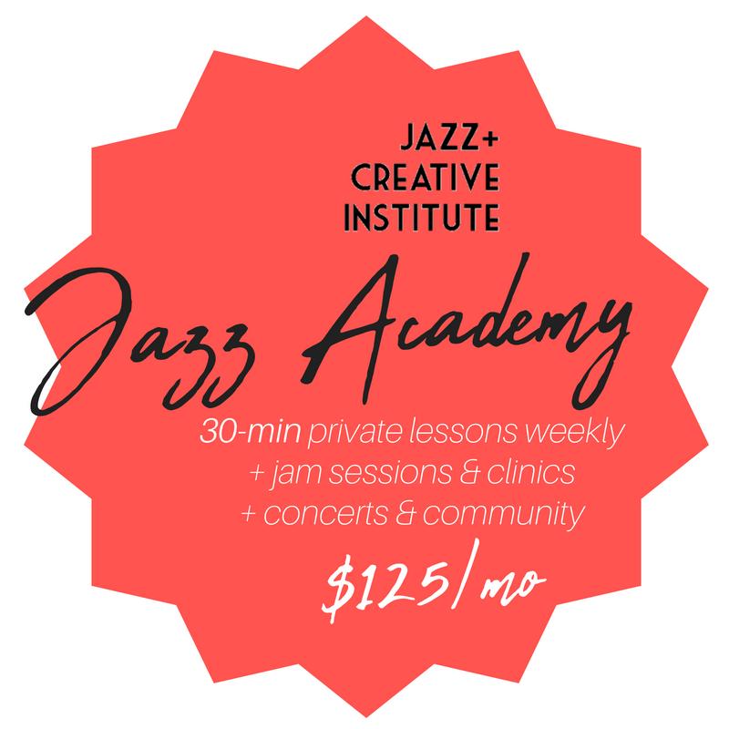 Kalamazoo jazz academy 30 minute lessons