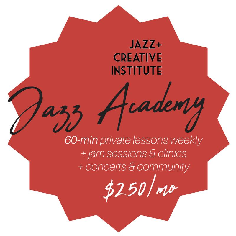 Kalamazoo Jazz Academy 60 minute lessons