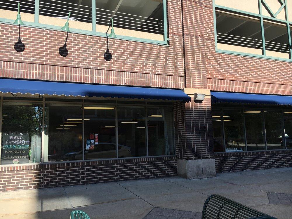 The Jazz & Creative Institute is located inside the  Kalamazoo Piano Company  at 310 N. Rose Street, Kalamazoo, MI 49007.