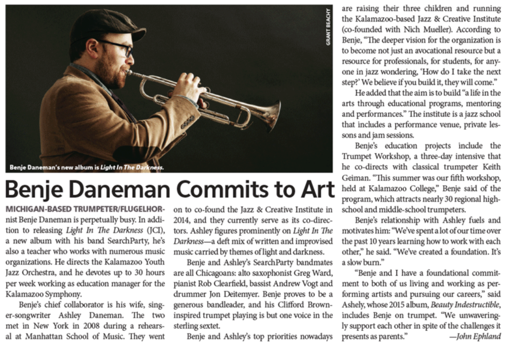 Downbeat Magazine, 2018