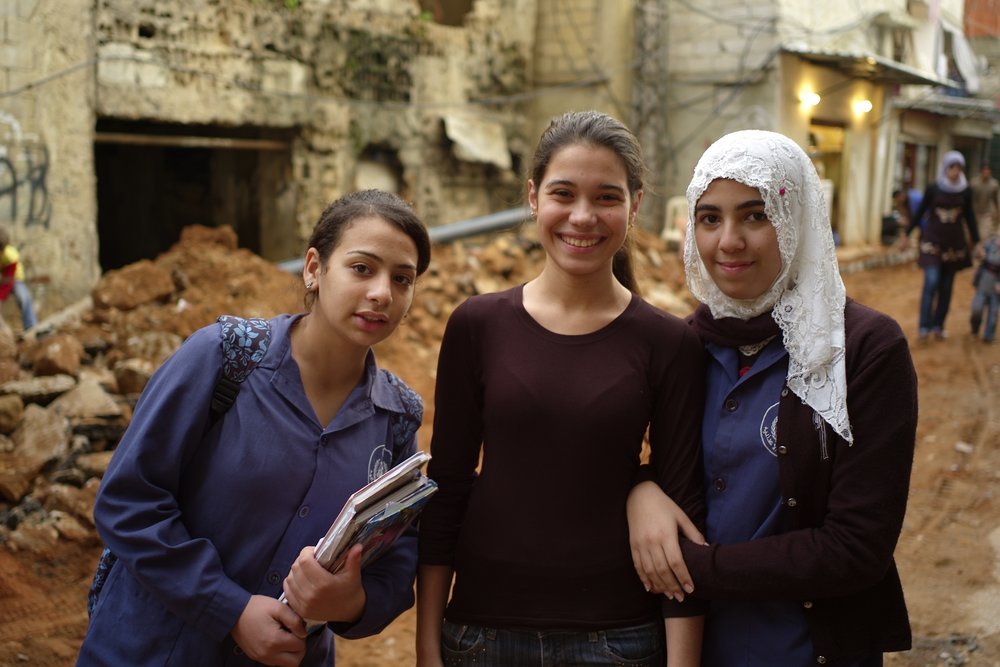 3 girls in Shatila.jpg