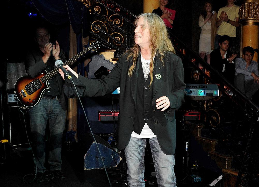 Patti Smith receiving applause.JPG