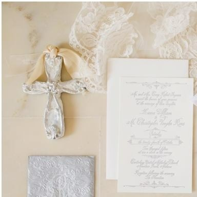 Hand Crafted cross, used as the wedding backdrop