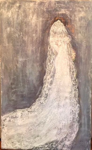"""Commission oil on Canvas for Bride """"Laura"""""""