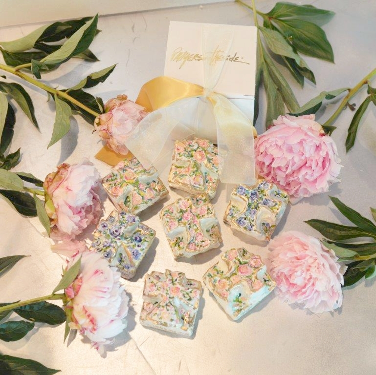 Lovely custom bridesmaid favours.