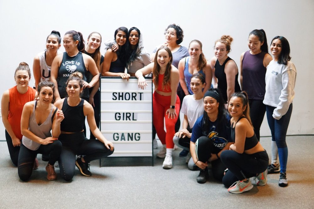 Join the Free Facebook Community Group - Jump in the group to receive free live trainings and tips and meet other members of the international #shortgirlgang community.