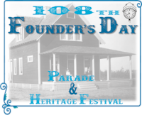 108th Founders parade & heritage festival logo.png