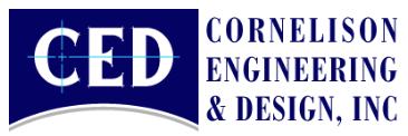 Cornelison Engineering & Design, Inc.     Address:  38039 Old 5th Avenue Zephyrhills   Email:  CED@cornelison-eng.com   Telephone:   (813) 788-7835