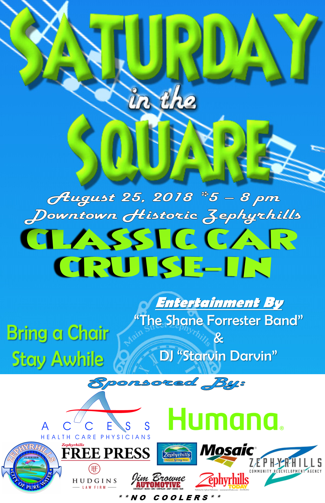 Saturday In The Square Classic Car Cruise In Main Street - Zephyrhills car show