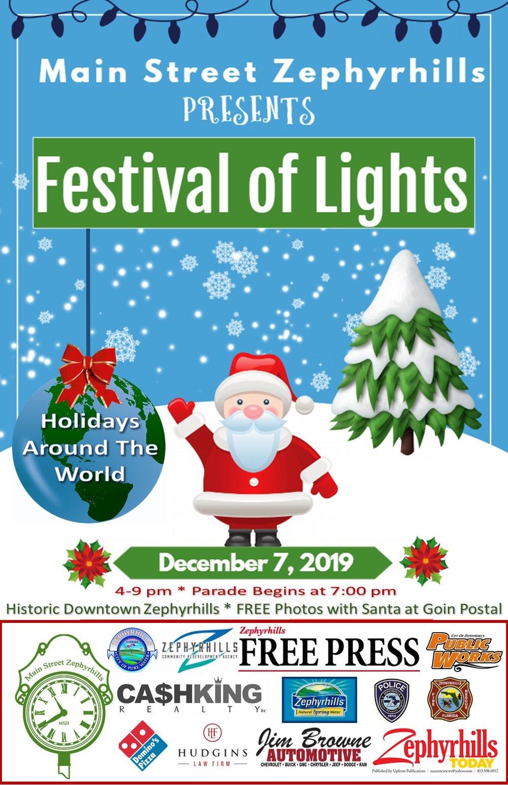Cape May Christmas Parade 2019.Calendar Of Events Main Street Zephyrhills Inc