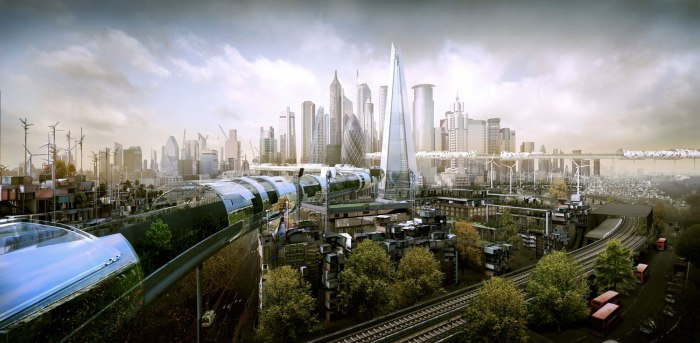 未来的城市