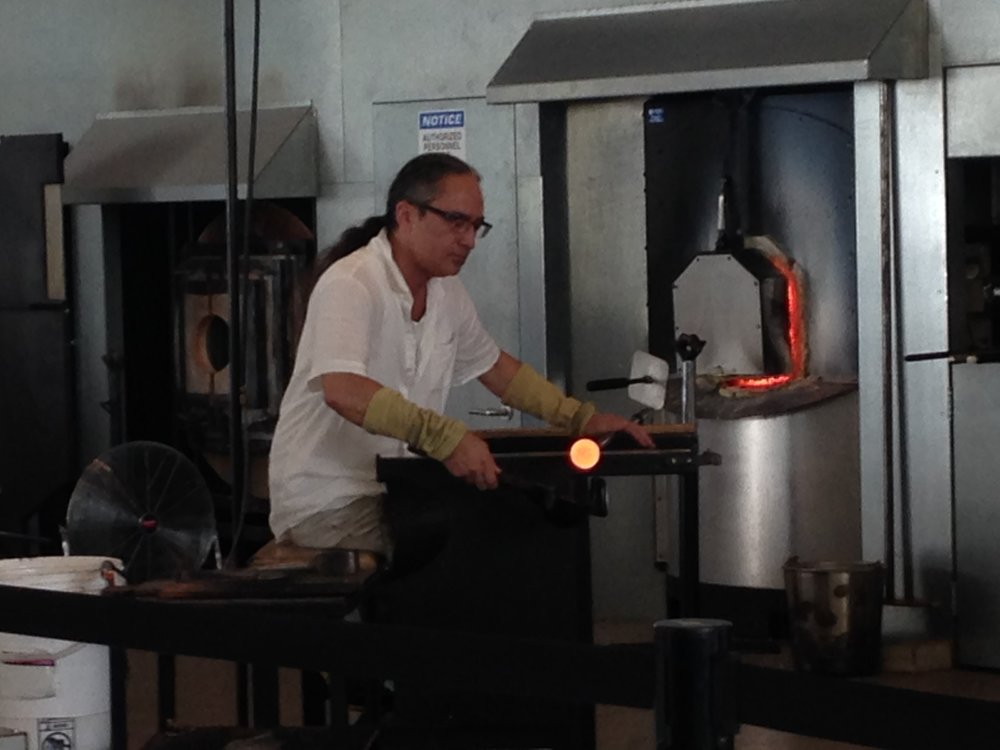 Toledo-glassmaking