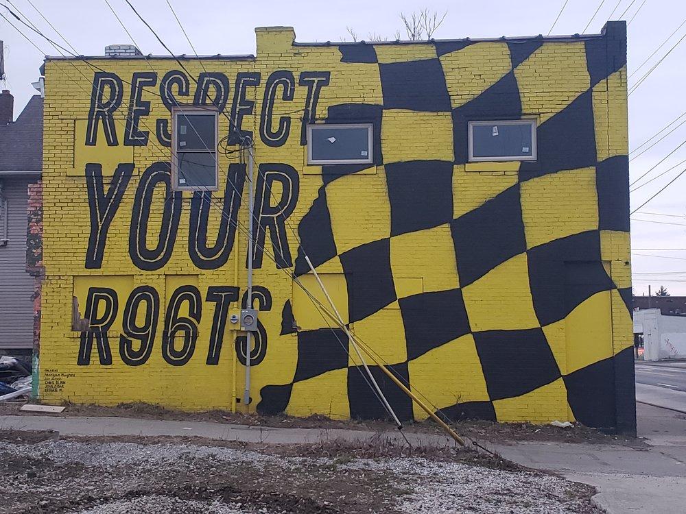 Building side on E Hudson Street, Columbus, OH
