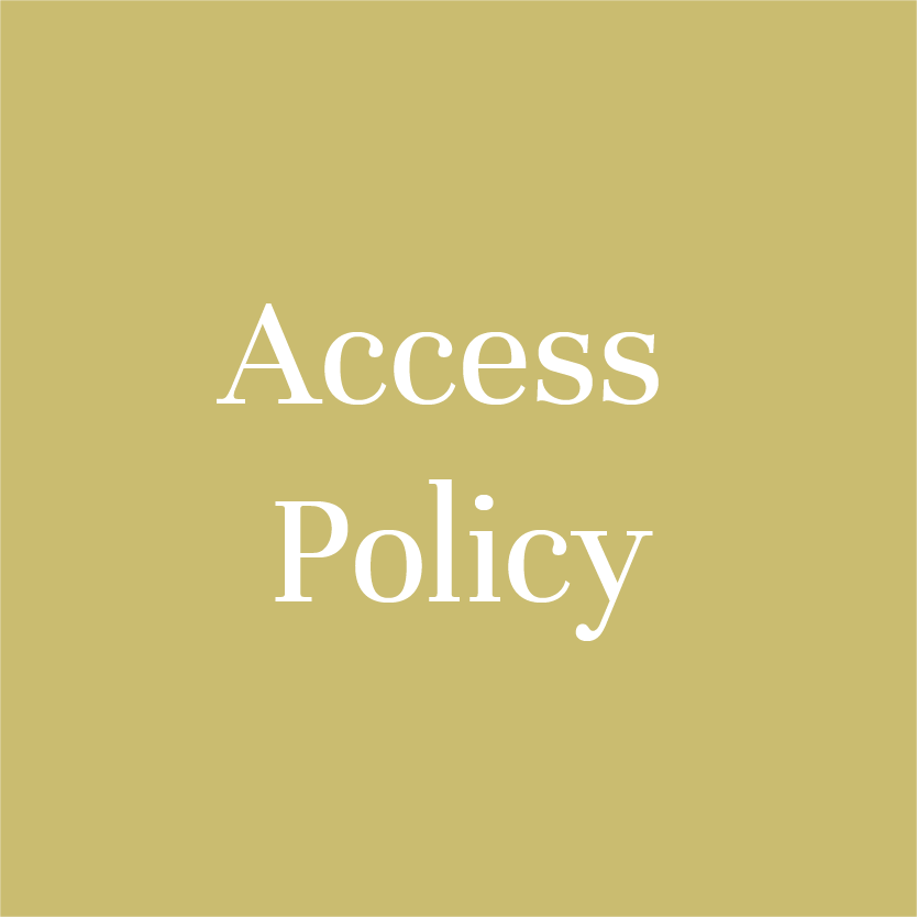 Download information about  Access Policy  here.