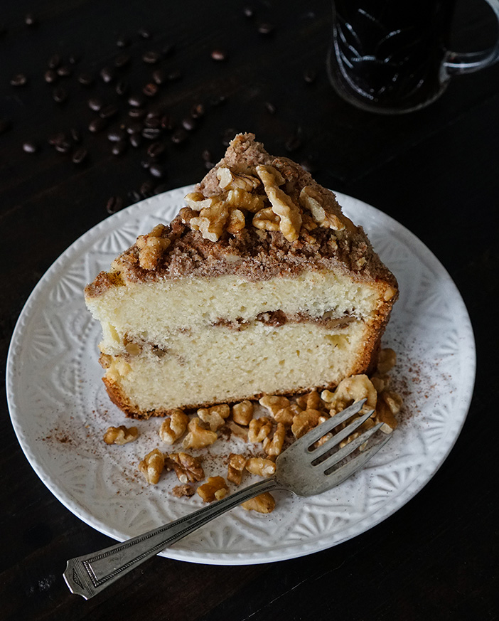 Feed Your Soul Cafe's Signature Coffee Cake