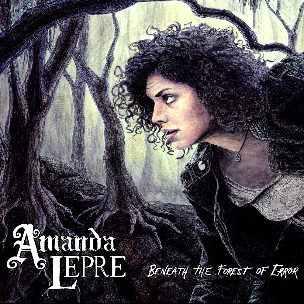 Beneath the forest of error - Amanda Lepre's debut album Beneath the Forest of Error contains 11 tracks of heavy, progressive/electronic-inspired melodies in a foundation of acoustic riffs.Stream and purchase:Bandcamp // Spotify // iTunes // CD Baby