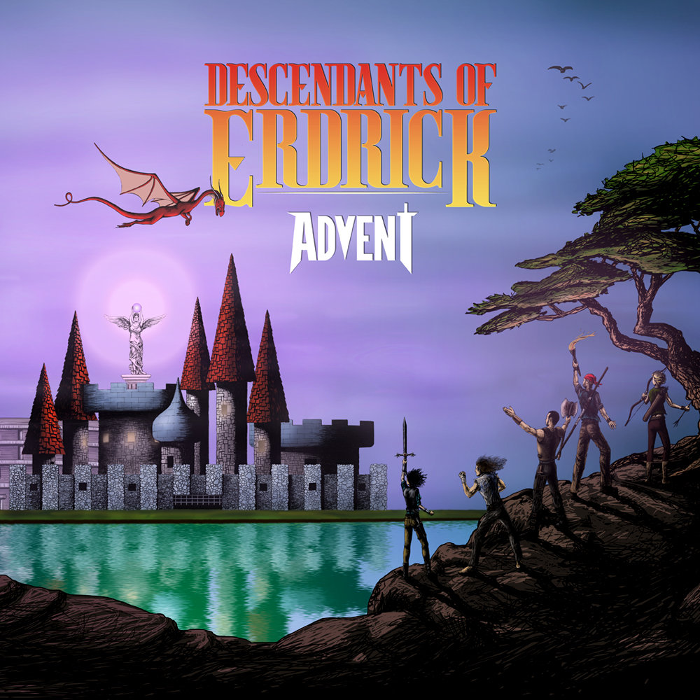 advent - Advent is a progressive-metal, RPG/Adventure-themed album by Descendants of Erdrick, inspired by epic soundtracks from epic games!Stream and purchase:Bandcamp // Spotify // iTunes