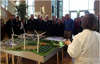 "Class 10 participants and guests learn about Alltech's  ""Farm of the Future"". Learn more at  www.alltech.com ."