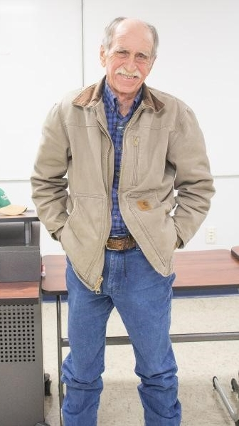 Dr. O.L. Robertson, 73, head of the animal science department in the Hutson School of Agriculture at Murray State University. Photo:McKenna Dosier