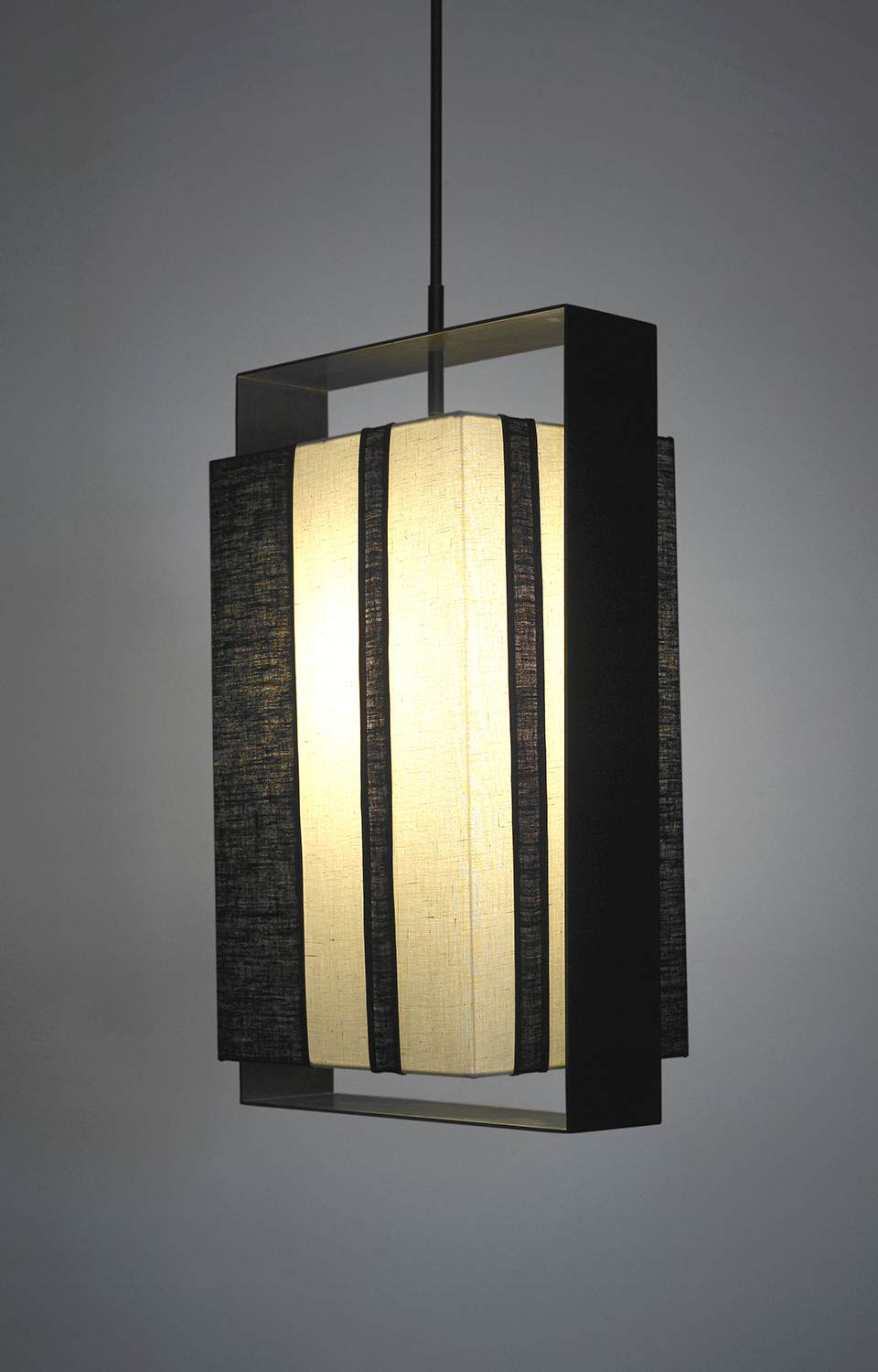 Halo_C-146_Halo Box Pendant with Vertical Stipes_Black_White with Black.jpg