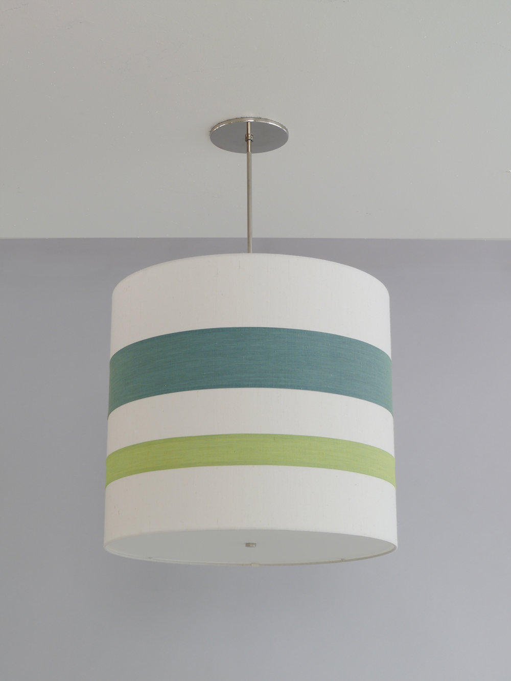 Striped_C-119_Double+Stripe+Drum+Pendant_Satin+Nickel-Greens+and+White.jpg