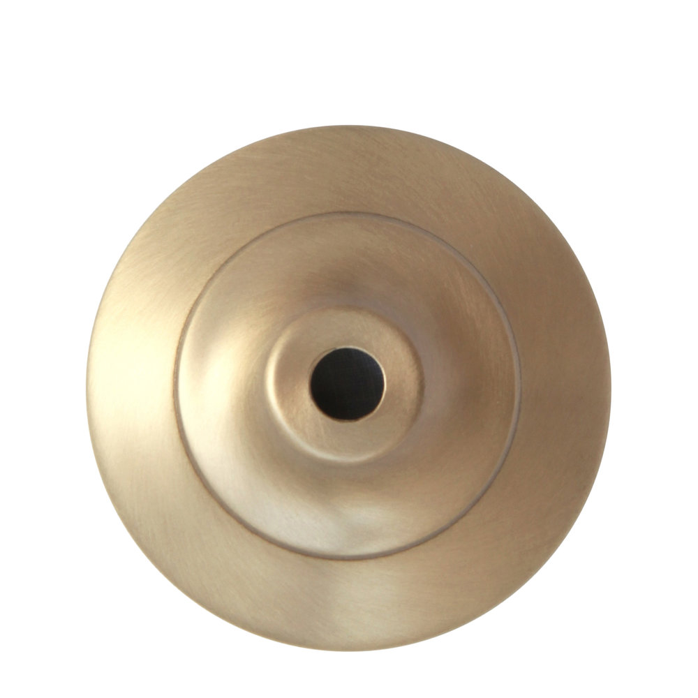 Warm Satin Brass