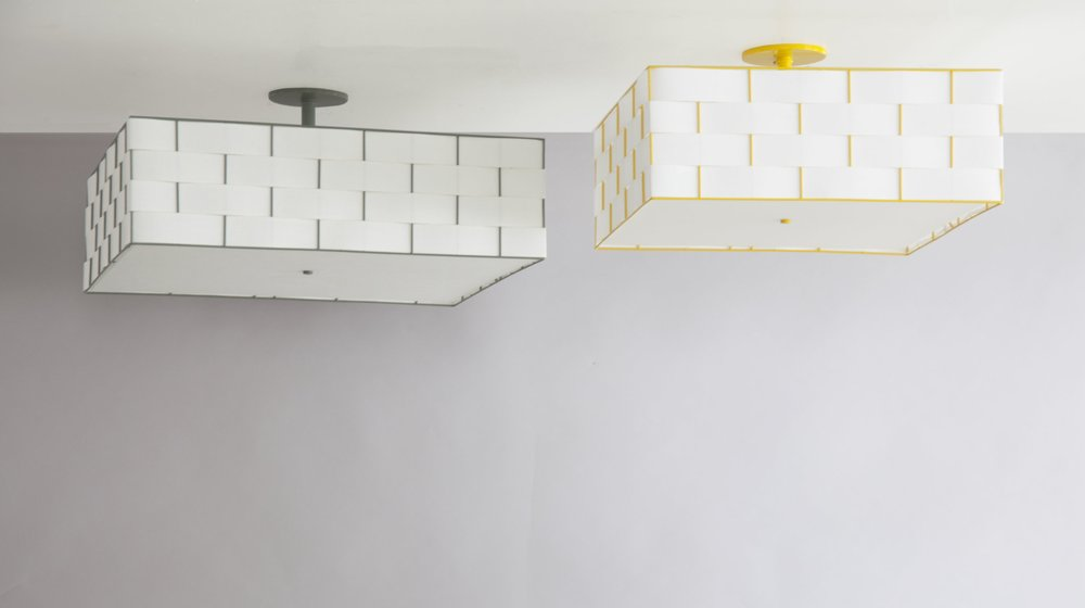 C-166 Basket Weave Ceiling Fixture_Green_Yellow_More Diffuser-1.jpg