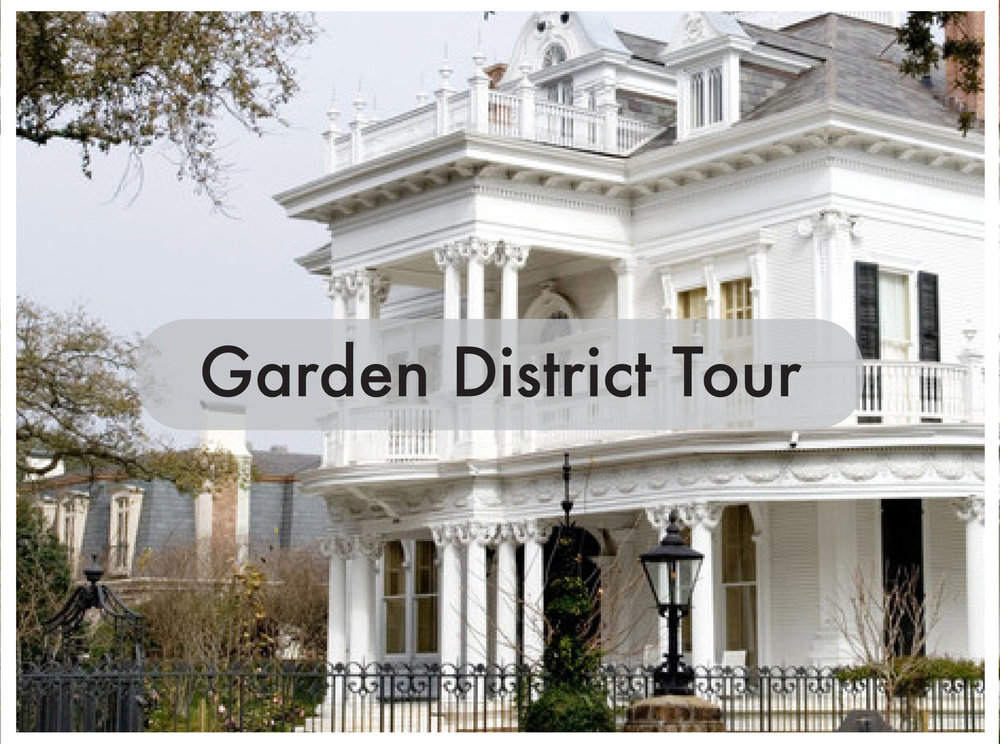 New Orleans Pedicab Tours Garden District